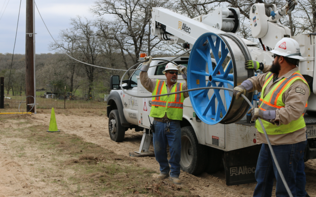 GVEC Fiber construction is coming to new areas of Cibolo