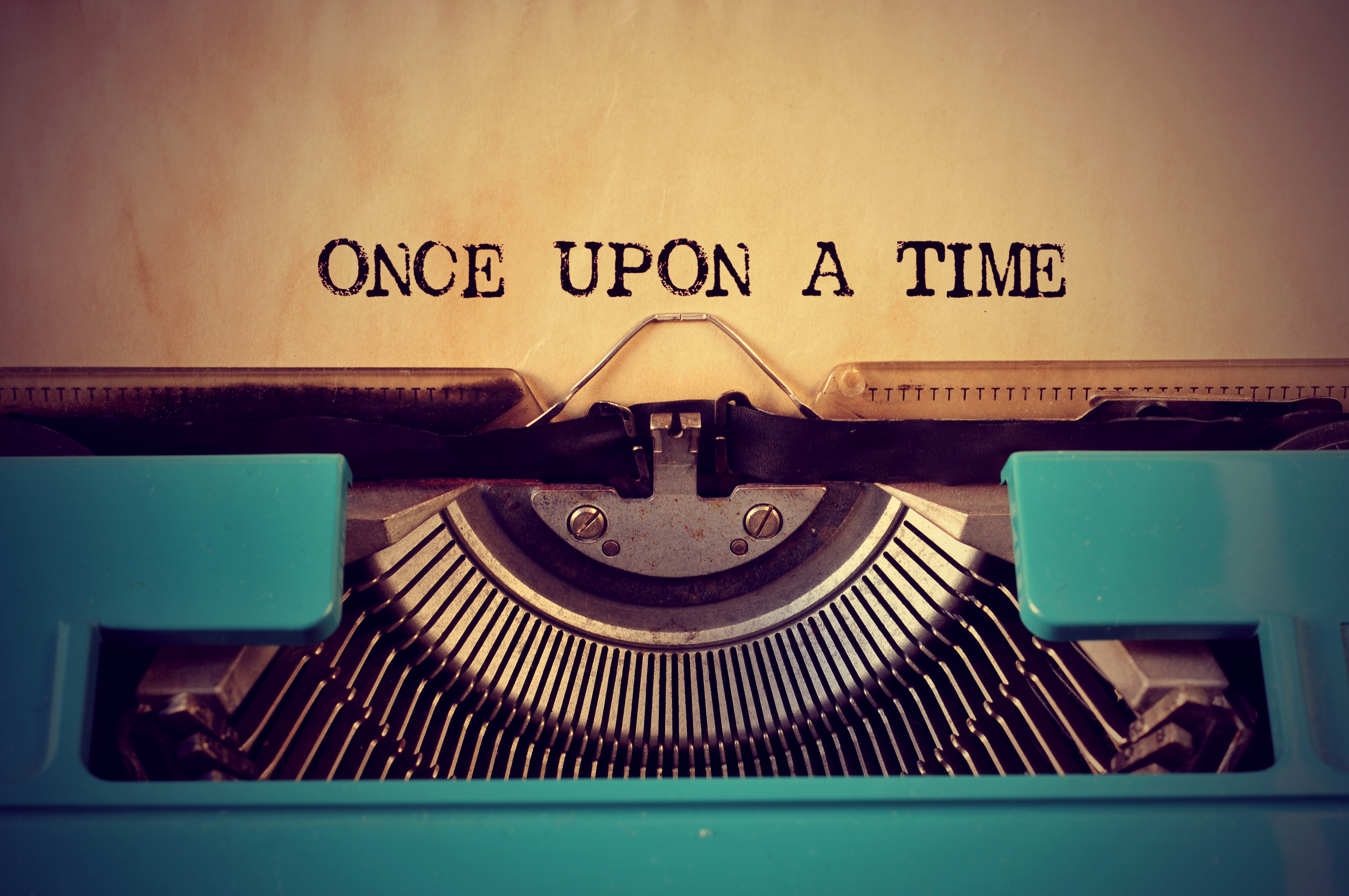 Once Upon a Time in GVEC Internet on typewriter
